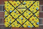 Memo Board, Yellow Bee (Landscape)
